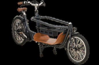 Babboe Lastenfahrrad mit Elektromotor Slim Mountain