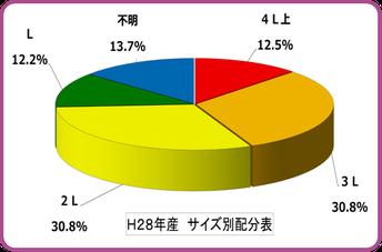 2016南高梅【サイズ別グラフ】 和×夢 nagomu farm