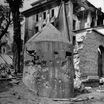 Hitler's bunker, Berlin 1945