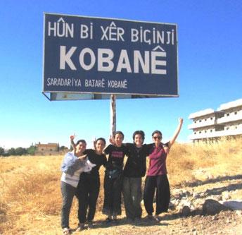Internationalistiske hilsener fra Rojava