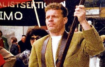 Den af fascister myrdede syndikalist Björn Söderberg
