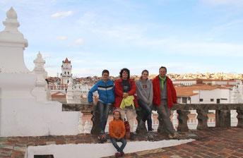 Sur les toits de San Felipe Neri
