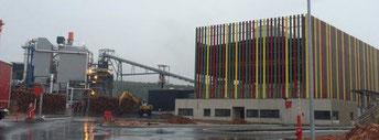 centrale à biomasse de Brignoles, Sylviana inaugurée en mars 2016