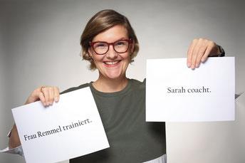 Sarah Remmel Trainerin und Coach