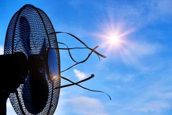 Ventilator verbessert die Qualität der Belüftung  Bild Pixabay