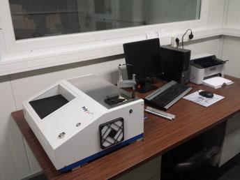 Fonderie ROCHE - analyse au spectromètre optique