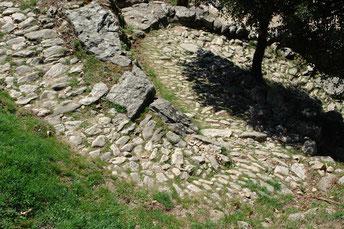 Les chemins du Caroux, Bardou, GR7