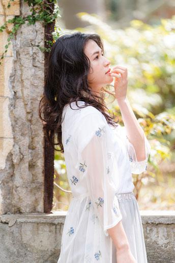 横浜 元町 石川町 美容室 ヘッドスパ 髪質改善 春夏 シースルーカラー 透明感 コレクション ヘアメイク