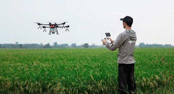 Comprar Drones para fumigar y evite pérdidas de cultivos por plagas, contáctenos ahora