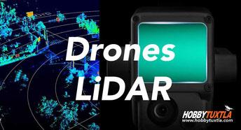 Drones con sensores LiDAR le ayudarán en proyectos importantes de construcción, contáctenos ahora