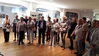 Führung durch das Harmonikamuseum in Trossingen       Fotos: Froese und Wildi
