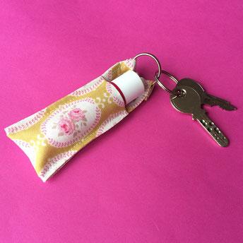 Schlüsselanhänger selbst genäht