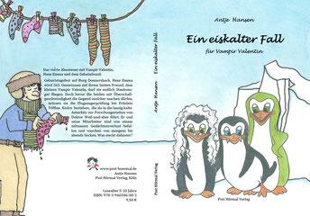 Abenteuer auf der Pirateninsel, der kleine Vampir Valentin 1, Antje Hansen, Psst Hörmal Verlag