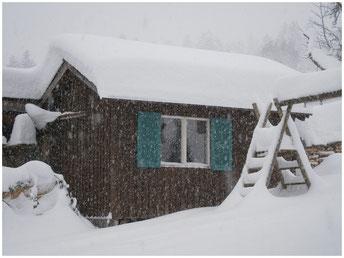 ... das Spielehaus im Schnee - 30.12.2014