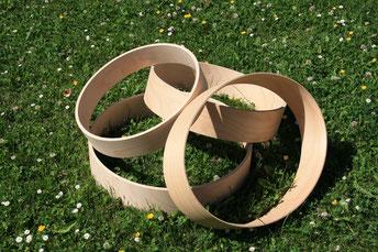 Trommelrahmen aus Buchenholz