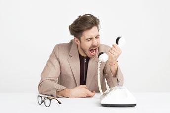 Telefonanrufe des grauens, persömlichkeitsentwicklung, blog corona lockdown