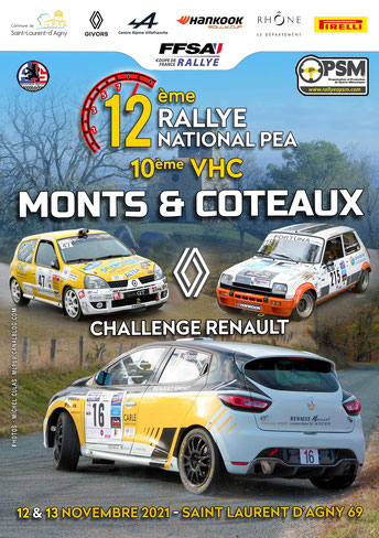 Affiche Monts et Coteaux 2021