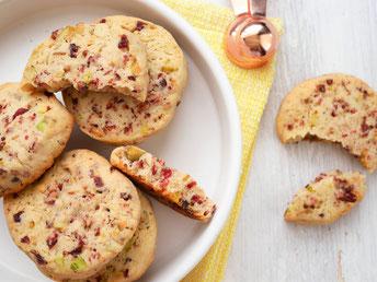 Cranbeery-Pistazien-Cookies