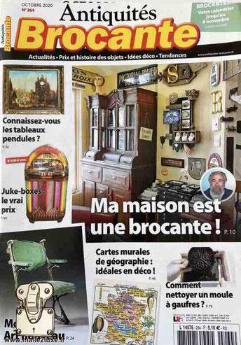 Antiquités Brocante - mensuel Octobre n°264 ecrin sure mesure