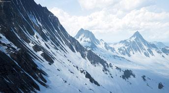 In dem nördlichen Gebirge von WarCry: Black Fist haben sich Zwerge, Elfen und Orcs niedergelassen.