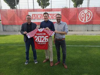 CEO Andres Krafft, COO Sebastian Schmalenbach und Marketing-Leiter Stephan Brust (von links)