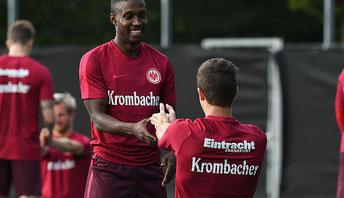 Taleb Tawatha im Dress von Eintracht Frankfurt