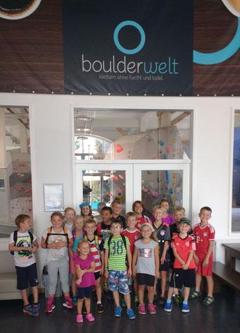 Ferienprogramm 2016 / Bouldern