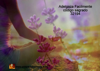 ADELGAZA FACILMENTE - CÓDIGO SAGRADO 32194 - RELAJACIÓN - PROSPERIDAD UNIVERSAL