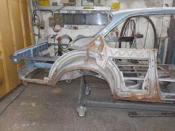 Komplettrestaurierung BMW 3,0 Csi
