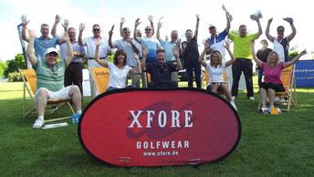 Die Sieger auf der Golfanlage Schloss Nippenburg