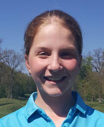 Die qualifizierte Sabrina Schmidt - © Golf Club Hetzenhof