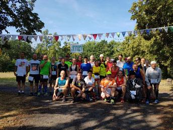Das waren die stolze Teilnehmer*innen beim 100 Bieler Marathon...