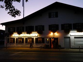 """Abendliche Einkehr im """"Gasthof Trenner"""" in Taufkirchen"""