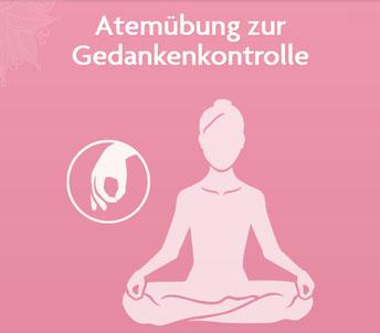 Asanas und Yoga Übungen für Yoga Anfänger und Fortgeschrittene - Atemübung zur Gedankenkontrolle www.yogitea.com