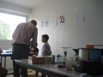 Bougie atelier enfants