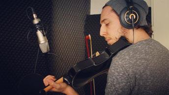 Instrumenten-Recording im Studio