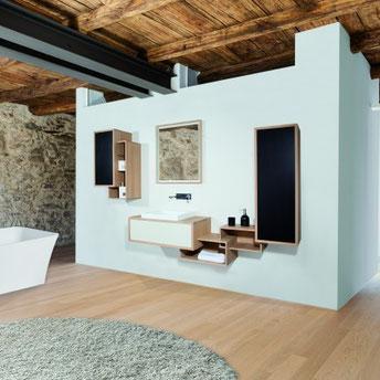 O'Design, meuble de salle de bain Scala, sur le blog d'Archi'Tendances, rubrique Habitat - Salle de bain