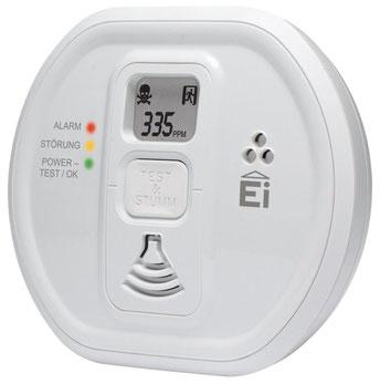 Kohlenmonoxidmelder EI208W-D funkvernetzbar