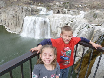 "Also in Idaho, Shoshone Falls - The ""Niagara Falls of the West"""