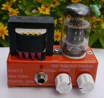 マイクロギターアンプヘッド micro guitar tube amp head