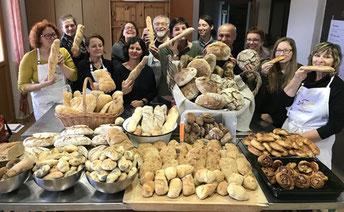 Intensiv-Brotbackkurs am Grüblerhof mit Helga Graef, Brot und Leben