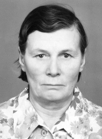 Истомина, бабушка