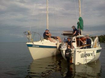 Scoutisme marin l'été