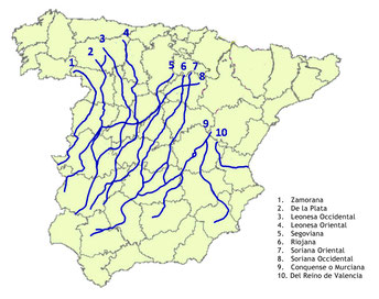 Las Cañadas Reales de la Corona de Castilla