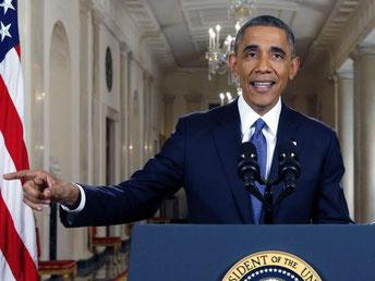Obama stellt klar: «Wir sind eine Einwanderernation und werden immer eine bleiben.» Foto: Jim Bourg