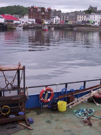 Oban, boat, Scotland