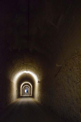Tunel del Castillo, Coripe
