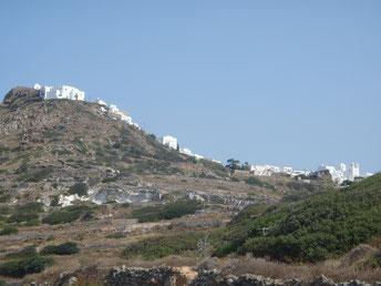 Plaka, Milos, Cyclades, Greece.