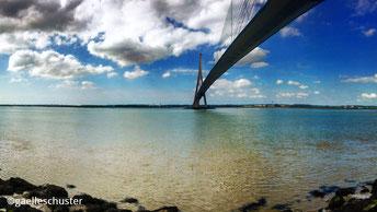 Photo du pont du Havre en Haute-Normandie