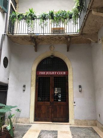 the juliet Club l club di Giulietta sede associazione a Verona Italia Veneto  Romeo e Giulietta William Shakespeare lettere posta